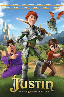 Justin and the Knights of Valour 2013 Dual Audio 720p BluRay