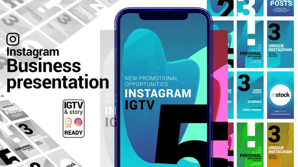 Instagram Story. Business Presentation. IGTV and Story ready[Videohive][After Effects][29056587]