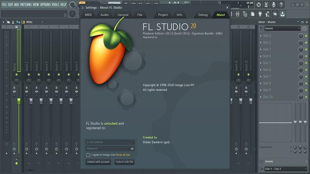 تحميل برنامج 20.7.2.1863  fl studio Producer Edition