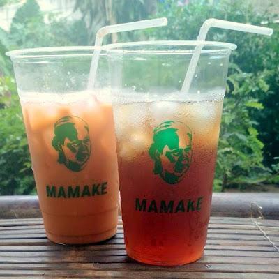 Minuman Lemon Tea Dan Thai Tea Ayam Geprek MAMAKE KU