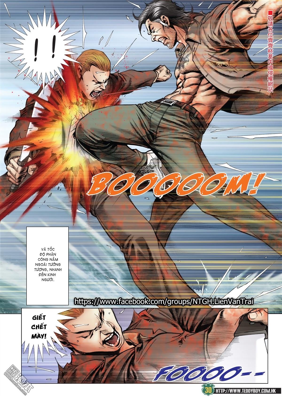 Người Trong Giang Hồ chapter 2033: kim tôn quý vs đại phi trang 27