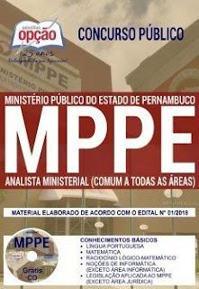 Baixar Apostila Concurso MP PE 2018 PDF