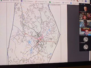 screen grab of sidewalk snow clearing map