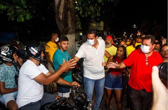 Frente Popular da Escada registra Boletim de Ocorrência e pede apuração do ocorrido na noite da última quinta-feira