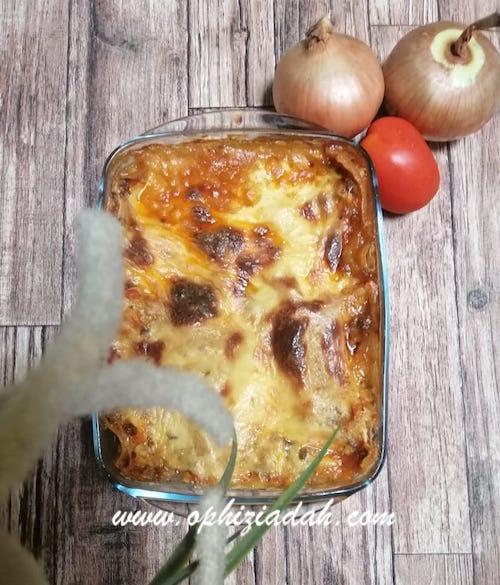Lasagna ala Mom of Trio