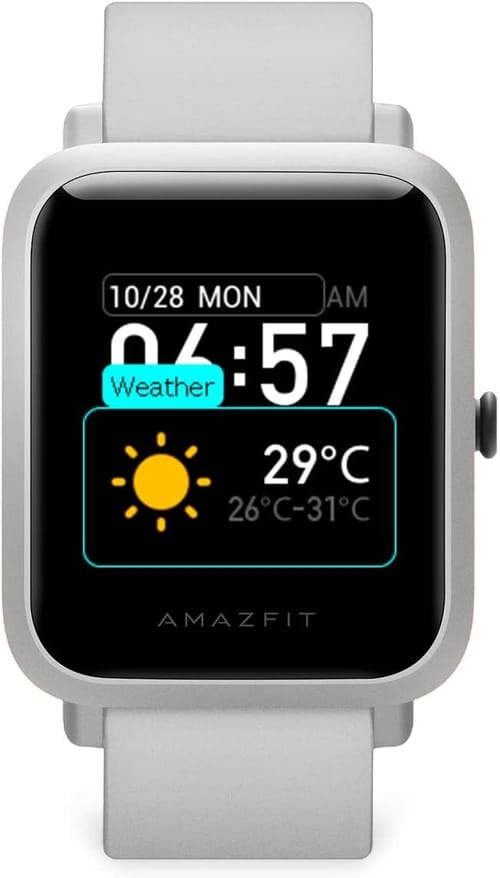 Review Amazfit W1821US2N Bip S Fitness Smartwatch