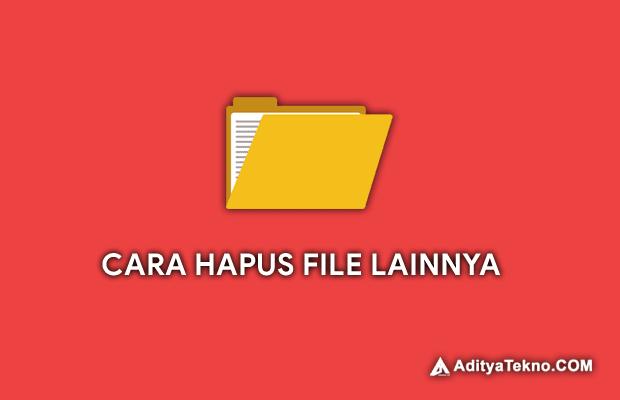 Cara Menghapus File Lainnya di HP Android Xiaomi