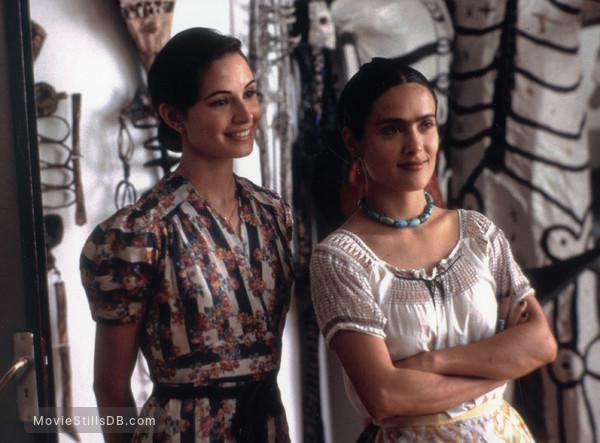 Cristina e Frida Kahlo no filme