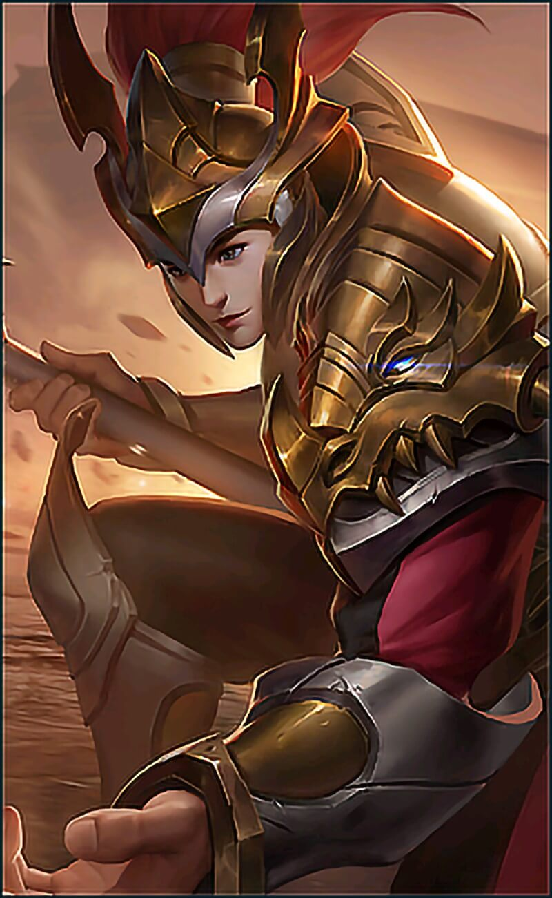 Wallpaper Zilong Elite Warrior Skin Mobile Legends for Android and iOS