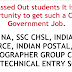 central government jobs for Intermediate passed out students