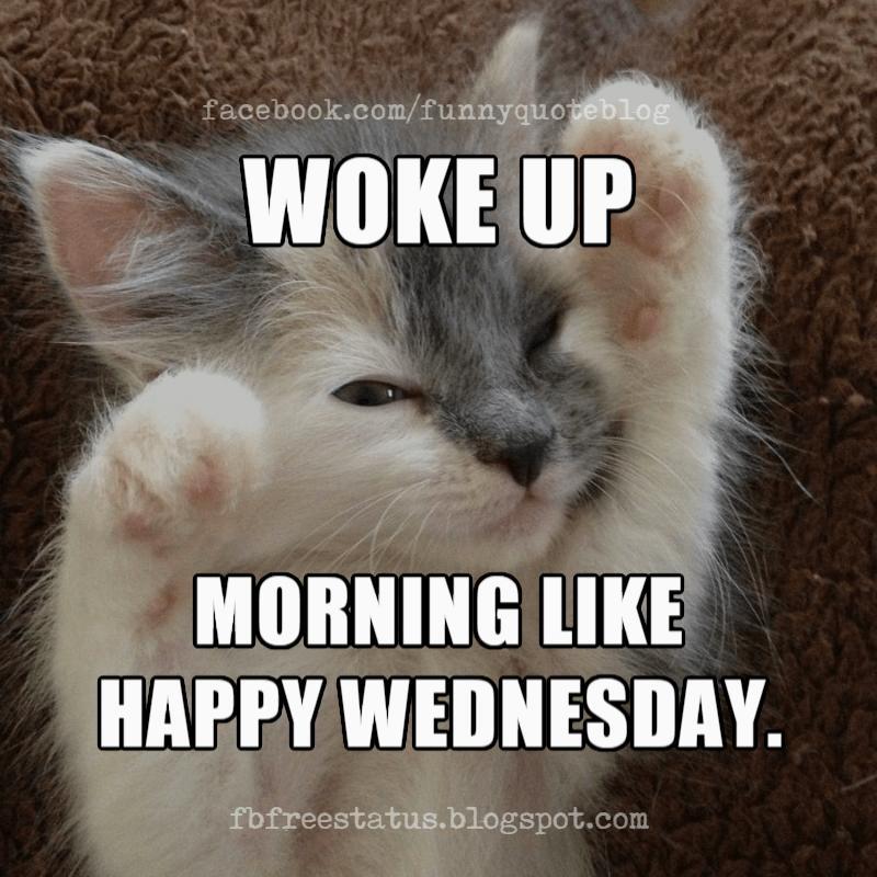 Happy Wednesday Memes, Woke up Morning Like. Happy Wednesday.