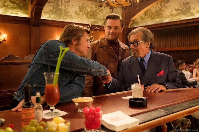 Al Pacino - Brad Pitt - Leonardo DiCaprio - Once Upon a Time in Hollywood