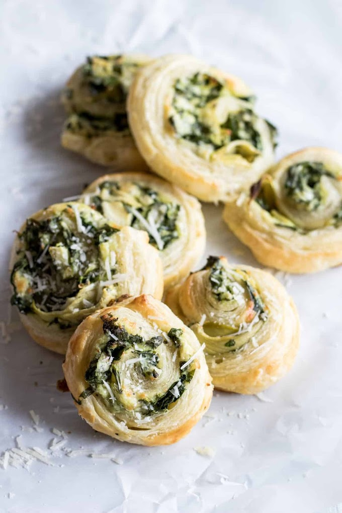Creamy Spinach Roll Ups Recipe #easy #vegetarian #creamy #recipes #food