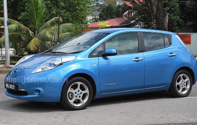 Malaysia Nissan Leaf Electric Car