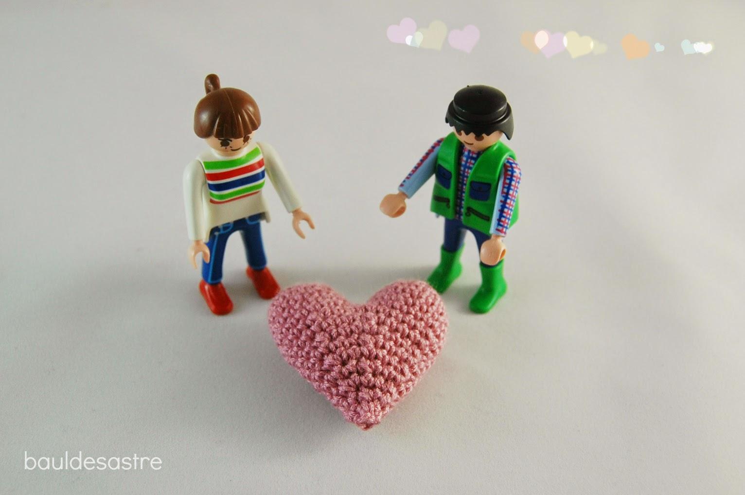 amigurumi corazón