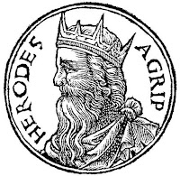 Ирод Агрипа - Гийом Руйе, 1553 г.