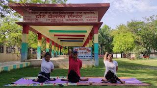 जालौन: सातवें अंतर्राष्ट्रीय योग दिवस (21 जून) पर विशेष कोरोना संक्रमण काल में योग ने साबित की महत्ता घर घर योग, घर पर योग, करें योग, रहे निरोग