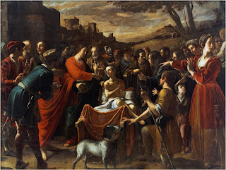 The Miracle at Nain, which is on display in Messina, is one of Minniti's best-known works