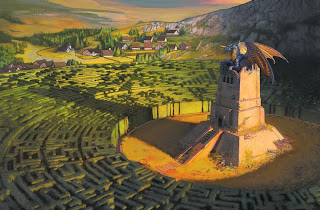 Image result for hedge maze d&d