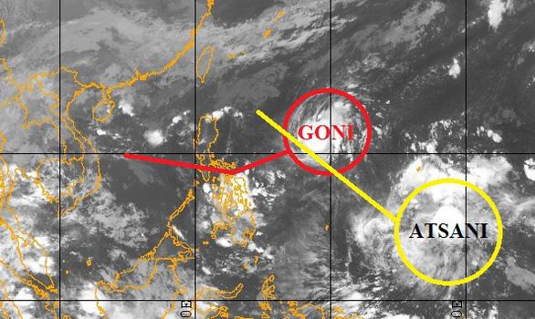 Bão Goni đang tăng cấp, Nam Trà My tiếp tục mưa
