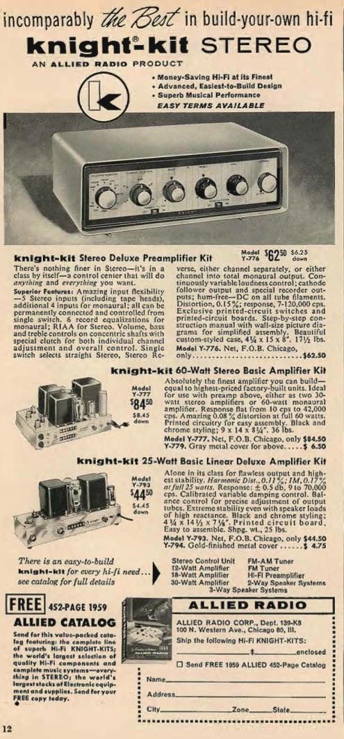 Stereo Preamp Kit