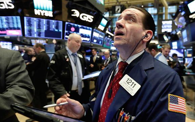 Stocks broke key level in sell-off that signals potential for bigger correction