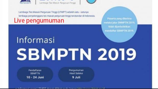 12 Link Cek Pengumuman SBMPTN Hari Ini Mulai 9 Juli 2019 img