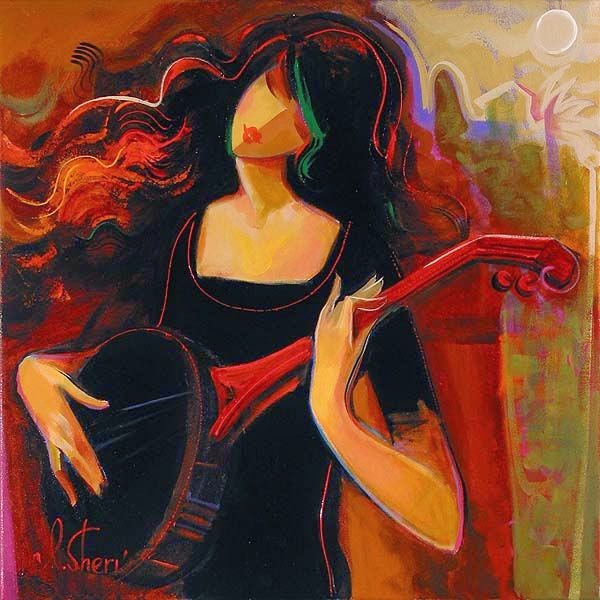 Ela é tão Bonita - Irene Sheri e suas românticas pinturas