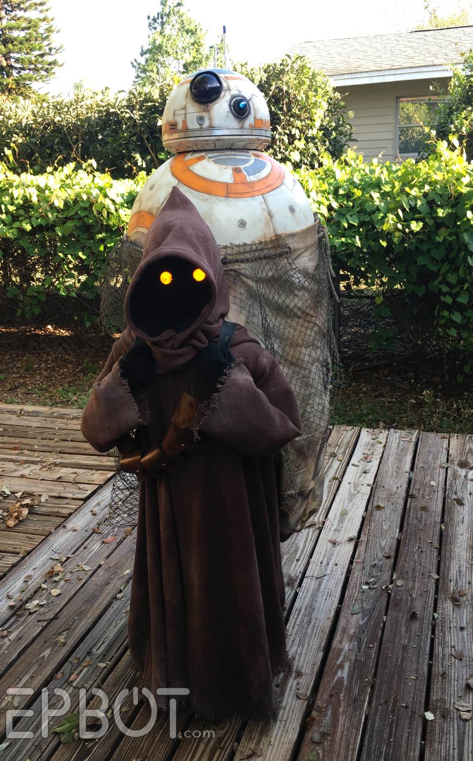 Our BB-Napping Jawa Cosplay: BUILD SECRETS REVEALED