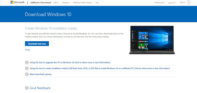 Tải về ISO Windows 10 MAY 2019 (1903) mới nhất từ Microsoft
