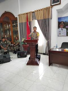Gelar Rakor Tingkatkan Kerjasama Pemeliharaan Stabilitas Keamanan