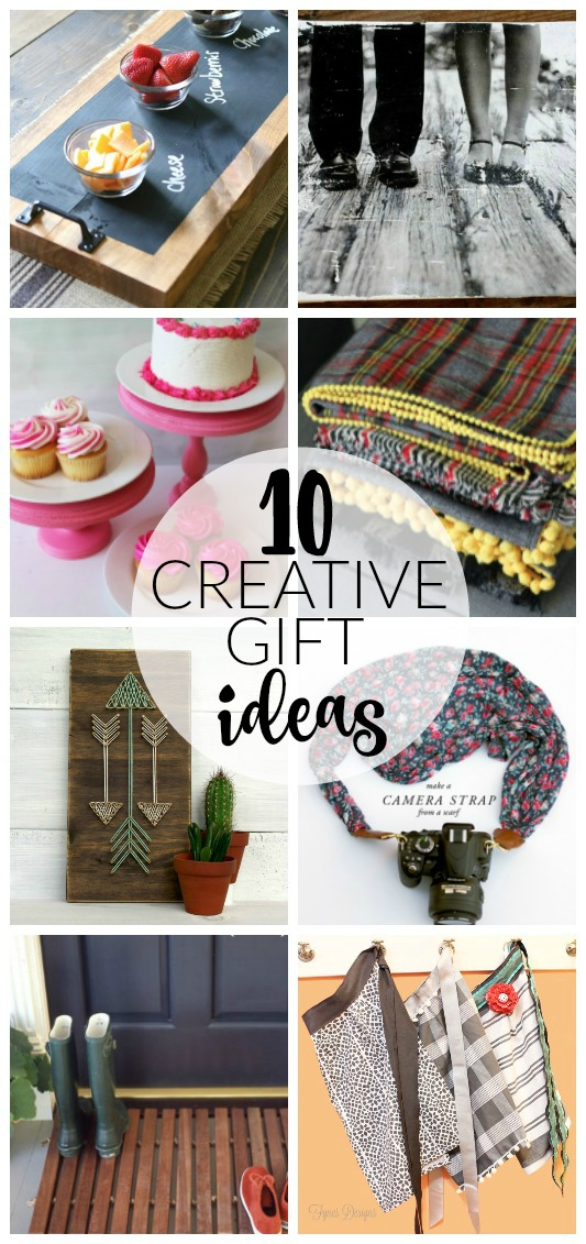 10 Thoughtful and Creative DIY Gift Ideas! www.littlehouseoffour.com