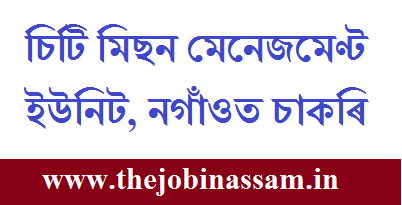 City Mission Management Unit, Nagaon Recruitment