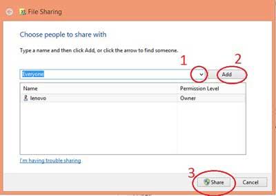 Menambahkan Permision - cara sharing data menggunakan kabel utp