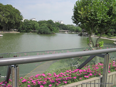 Hongmei park in Changzhou