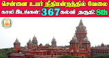 Madras High Court Recruitment 2021 367 Office Assistant Posts