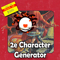 Free GM Resource: 2nd Edition AD&D Character Generator