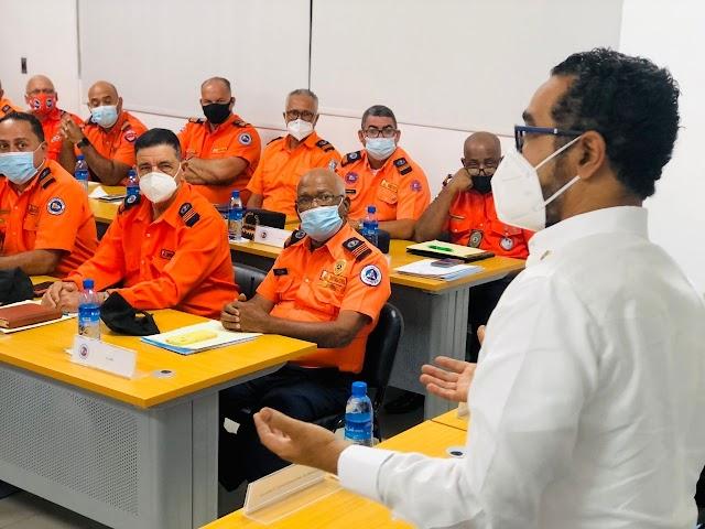DEFENSA CIVIL LISTA PARA ASISTIR A LA POBLACIÓN EN LA TEMPORADA CICLÓNICA 2021