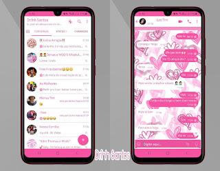 Loves Cute Theme For YOWhatsApp & Fouad WhatsApp By Driih Santos
