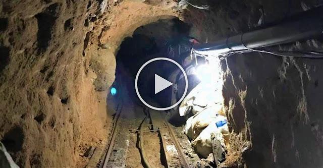 Под стената на Тръмп откриха най-дългия тунел за пренос на дрога (ВИДЕО)