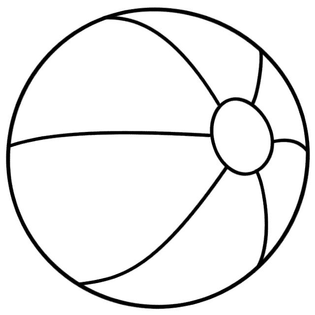 Gambar Mewarnai Bola - 10