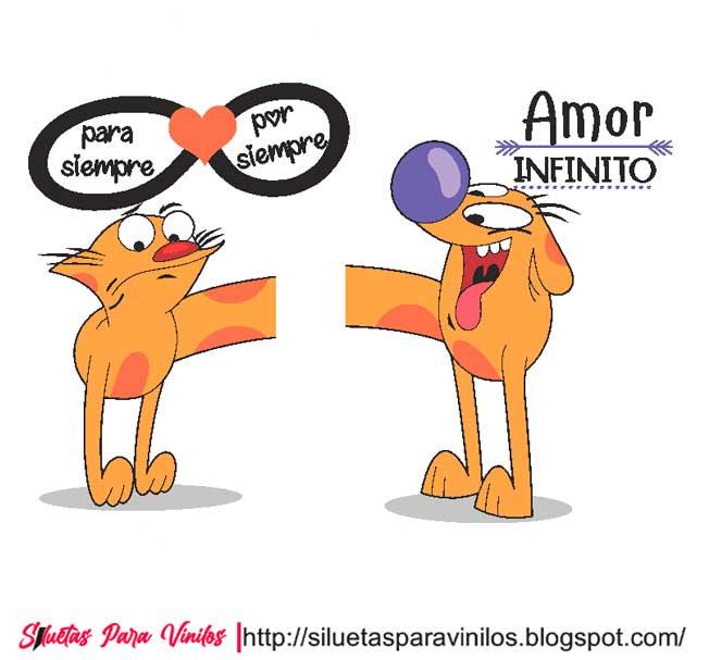 Vectores Parejas Infinito Amor (Free Download)