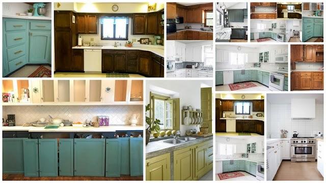 Ντουλάπια Κουζίνας: Βάψιμο με Ακρυλικό ή χρώμα Κιμωλίας; Πλεονεκτήματα - Μειονεκτήματα - Διαφορές
