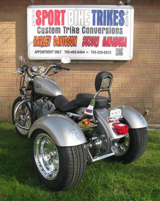 '09 H-D 883 Sportster Sport Bike Trike Custom Conversion Kits