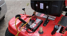 How To Charge a Riding Lawn Mower Battery With a Car