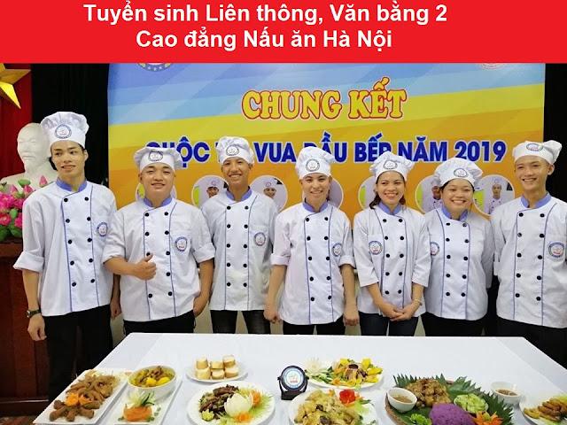 Tuyển sinh liên thông cao đẳng nấu ăn Hà Nội