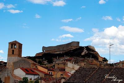Imagen de los restos del Castillo del siglo XI en San Esteban de Gormaz