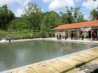 Keindahan Wisata Banyu Panas Palimanan Cirebon Memukau