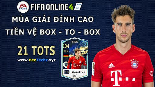 FIFA ONLINE 4   Review Leon Goretzka 21 TOTS - Mùa giải đỉnh cao của tiền vệ Box To Box