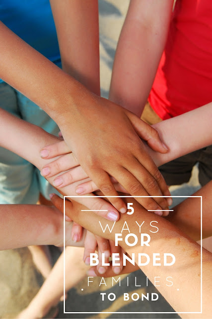 5 Ways For Blended Families to Bond. Bonding is hard, especially for blended families. Here are the 5 ways our blended family has come together and bonded! #SnuggleUpMoments #ad